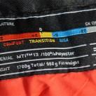 Alle vier Werte werden bei Mammut im Schlafsack aufgeführt plus die Werte der amerikanischen Norm