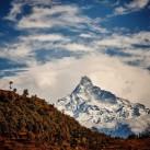 Die Berge Nepals
