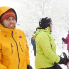 Materialtest auf Schneeschuhtour (2012)