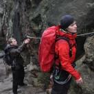 Materialtest auf dem Klettersteig (2010)