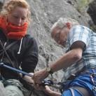 Materialtest beim Klettern (2014)