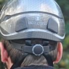 Skylotec Grid:Kopfweitenverstellung über ein Rädchen