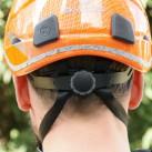 Skylotec Scycrown: Kopfgrößeneinstellung mittels Rädchen