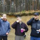 Materialtest 2003 - Finger-Outdoorzahnbürsten (haben sich dann doch nicht durchgesetzt ...)