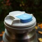 Überzeugende Deckelkonstruktion (BPA-frei)