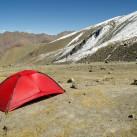 Die Belüftung am unteren Stok Kangri Basecamp auf 4900 Meter Höhe funktionierte ausgezeichnet