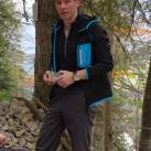 Alex mit dem Fleece Hoody von Ortovox auf tapir-Testtour im Karwendel