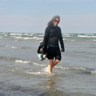 Wasserwandern im April an der Ostsee