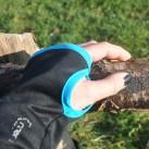 Die Handgamaschen am Fleece Hoody von Ortovox