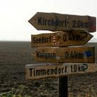 Auch Poel hat einen Timmendorfer Strand, inklusive Zeltplatz (unser erstes Etappenziel)