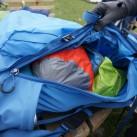 Abisko 65: Die große Frontöffnung ermöglicht optimales Packen und gute Übersicht über den Rucksackinhalt