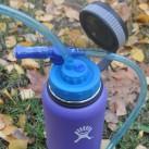 Auf die Wide-Mouth-Flaschen passen auch die Trinkschläuche von Smarttube und Ortlieb