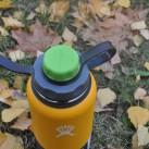 """Wer seinen Mund nicht zu weit öffnen will, der kann seine Hydro Flask mit dem  Trinkflschendeckel """"capCap""""  ausstatten"""