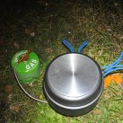 Warten auf das kochende Wasser