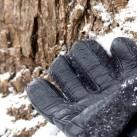Die Lederinnenflächen sorgen beim Schladming für guten Grip.