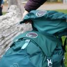 Unter der Deckeltasche verbirgt sich eine Deckelklappe für den Fall, dass man leicht und ohne Deckelfach unterwegs sein will