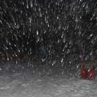 Man sieht es zwar nicht, aber mit dem Squamish Hoody war ich auch im Schneesturm gut unterwegs