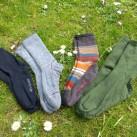 Socken können von Austattung und Passform her echt unterschiedlich sein
