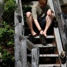 Auf Tour regelmäßig lüften ist für Fuß und Schuh gleichermaßen angenehm...