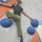 Bouldern hat nichts mit Köperlänge zu tun - Oder?