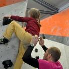 Wenn der Vater mit der Tochter Bouldern geht ...