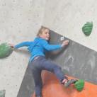 Kaja auf dem Weg nach oben