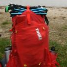 Thule Versant 50: Befestigungsmöglichkeiten auf dem Ruckack