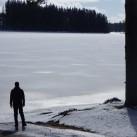 In den Pausen - beeindruckende Winterlandschaften.