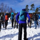 Seminar im Schnee.