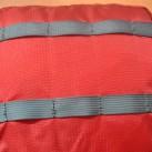 Materialleiter (Befestigungsmöglichkeiten ) auf dem Deckelfach.