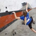 Kaja stellte sich erfolgreich den Problemen in der Vertikalen an ihrer Heimtrainingsstätte und ging als Siegerin aus der Halle.