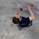 Konzentration: Christoph hat sein Ziel fest im Blick und belegte am Ende Platz 3.
