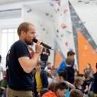 Nicht nur bei den Leipziger wettkämpfen: Reini als Kommentator und Motivator war auch beim Bouldercup wieder nicht zu überhören. Gut so!