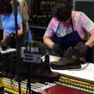 Schuhproduktion im eigenen Haus