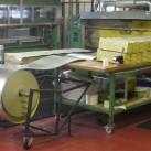 Herstellung der Therm-a-Rest Z-Rest-Matten