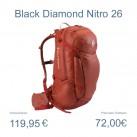 Kletterrucksack Nitro26 von Black Diamond