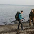 Mit dem Leki Micro Carbon unterwegs an der Ostsee.