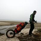 Mit der Exped Multimat aut Testtour an der Ostsee