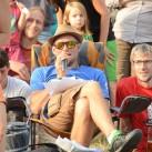 Bouldercup am Gaudlitzberg - Reini ist in seinem Element (Foto: Steffen Wunderlich)