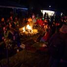 Lagerfeuerstimmung zum Ausklang (Foto: Ralf Görner)