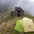 Testbedingungen in den italienischen Alpen