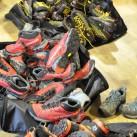 Testtourvorbereitung: Schuhe gibt es von Lowa und La Sportiva