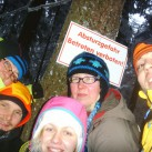 Geocachen im Schnee in Thüringen 2013