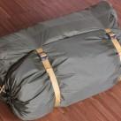 Das Zelt als Gesamtpaket. Man kann die Päckchen auch getrennt verpacken