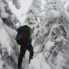 Schnee ohne Ende auf dem Brocken 2012