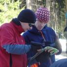 Auf Schneeschuhtour - in der Sonne kein Problem mit den Softshelljacken von MHW und Mammut
