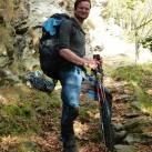Mit der Makke Pant im Val Grande, Italien