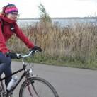 The North Face Shinpuru Jacket: auf Radtour