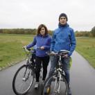 Alex und Markus im quasi Partnerlook: Stegaros Jacket von Bergans