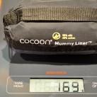 Inlett Seide-Baumwolle: Gewicht nachgewogen